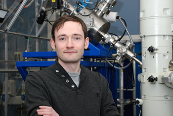 Dr Graeme Greaves research into gold nanoparticles sputtering yield
