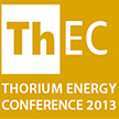 Huddersfield professors Bob Cywinski and Roger Barlow at the 2013 Thorium Energy Conference (ThEC13) in CERN