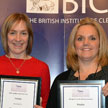 News thumbnail of Christine Ellis and Tracy Butters with their awards
