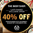 Staff Discount at the Body Shop thumbnail