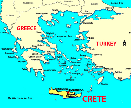 Crete S Late Minoan Tombs Point Way To Early European Migration
