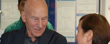 Sir Patrick Stewart looks to the future