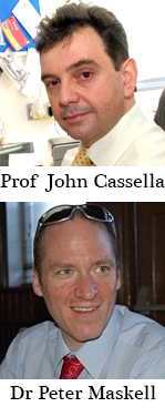Professor John Paul Cassella and Dr Peter Maskell