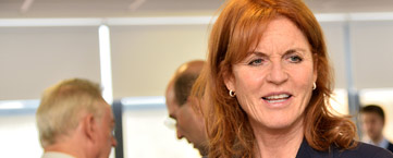 The Duchess of York and the British Heart Foundation competition