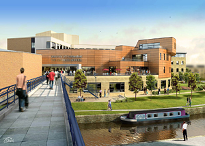 Artists impression of the new Business School